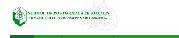 ABU Postgraduate Form