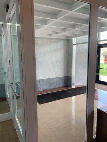 DeKalb Courthouse BR custom vestibule July, 2019