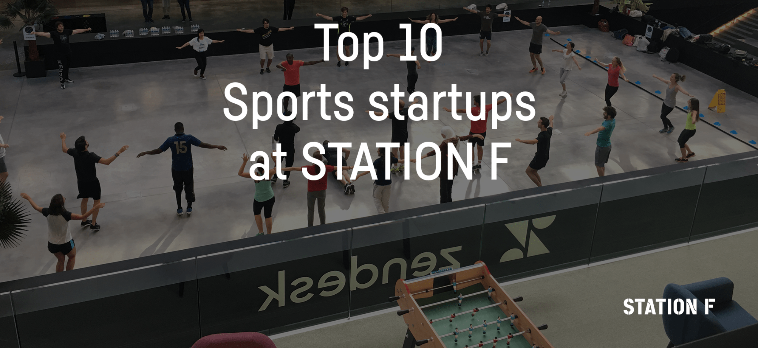 Top 10 Sports startups at STATION F