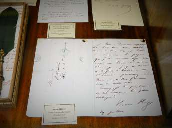 A Letter penned by Victor Hugo