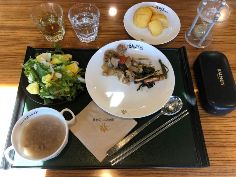 healthy meal at Healience resort