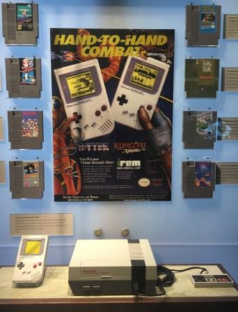 Gameboy game system, 1989