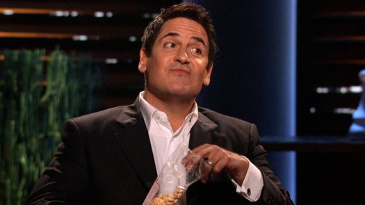 Mark Cuban on Shark Tank - Shark Tank Cast