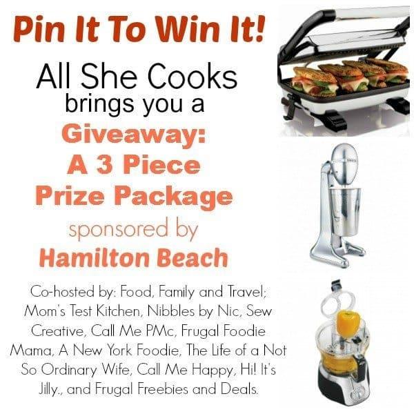 Hamilton Beach Giveaway