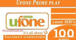 UFONE Prime-Play