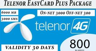 Telenor EasyCard Plus Package