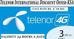 telenor international call package