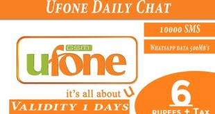 Ufone Daily Chat Package