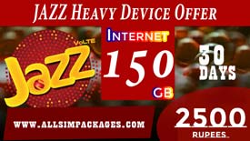 JAZZ HEAVY DEVICE OFFER