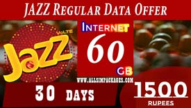 JAZZ REGULAR DATA OFFER