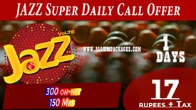 JAZZ-Super-Daily-Call-Offer