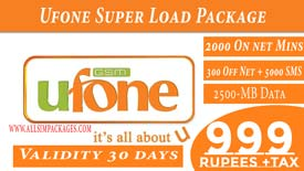 Ufone Super Load Package