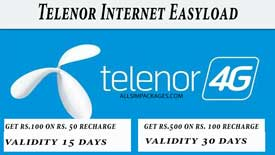 telenor internet easyload