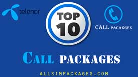 top 10 telenor call packages