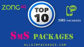 zong top10 sms packages