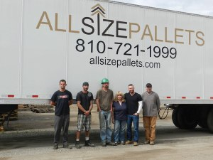 Some of the family at All Size Pallets, LLC