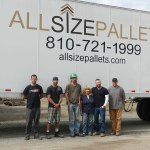 Family-owned All Size Pallets company, keeps wood pallets out of landfills