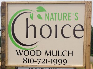 Nature's Choice Wood Landscape Mulch