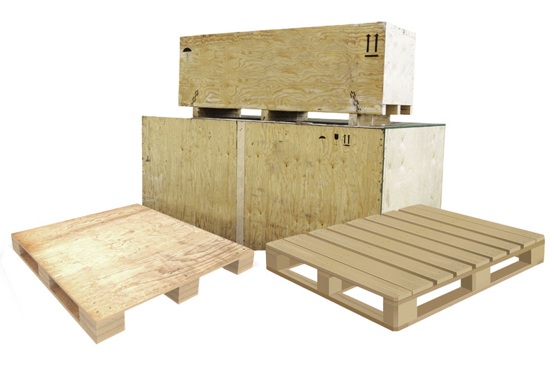Not Sure If You Need A Wood Pallet Skid Or Crate