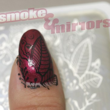 nail stamp with logo 002