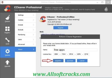 CCleaner Pro 5.74.8184 Crack + Registration Code Free Download