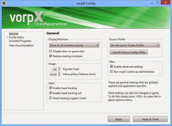 vorpx  v21.2.0 Crack With Product Key Free Download 2021