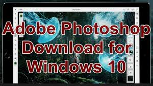 Photoshop CC Crack Download for Windows 10