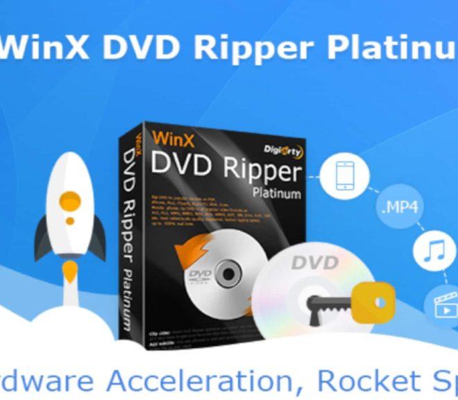 WinX DVD Ripper Platinum 8.20.5.245 Crack With License Keygen Download [2021]