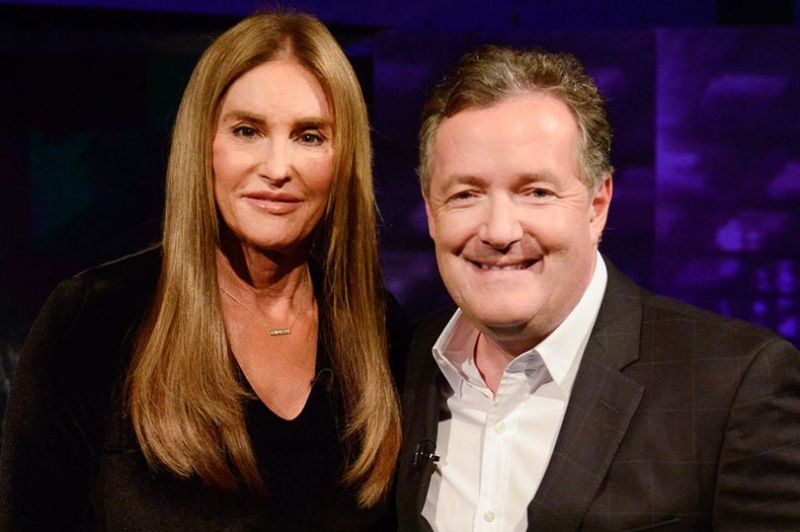 Piers Morgan's chat with Caitlyn