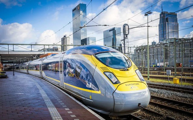 eurostar amsterdam to london