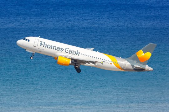 thomas cook check in