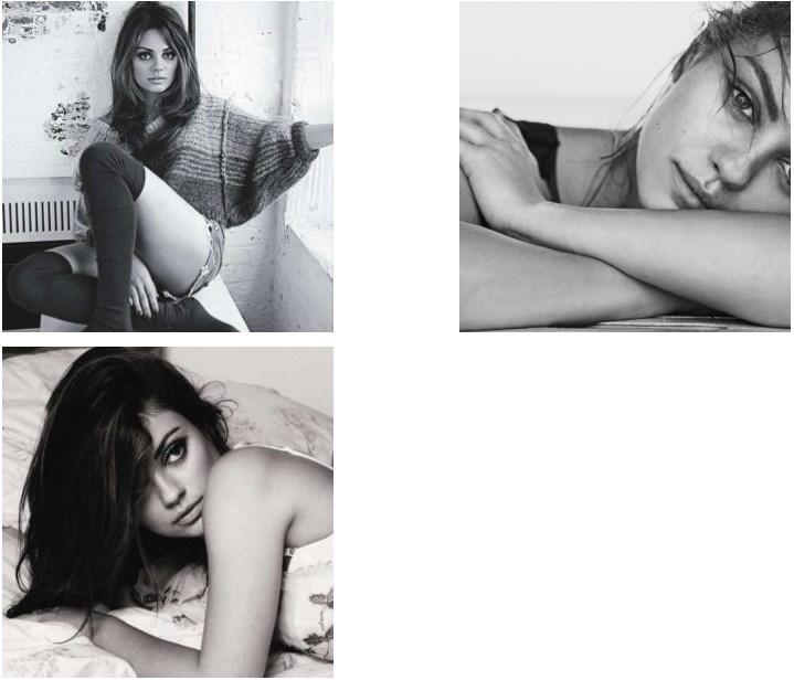 Mila Kunis Hot Photoshoot