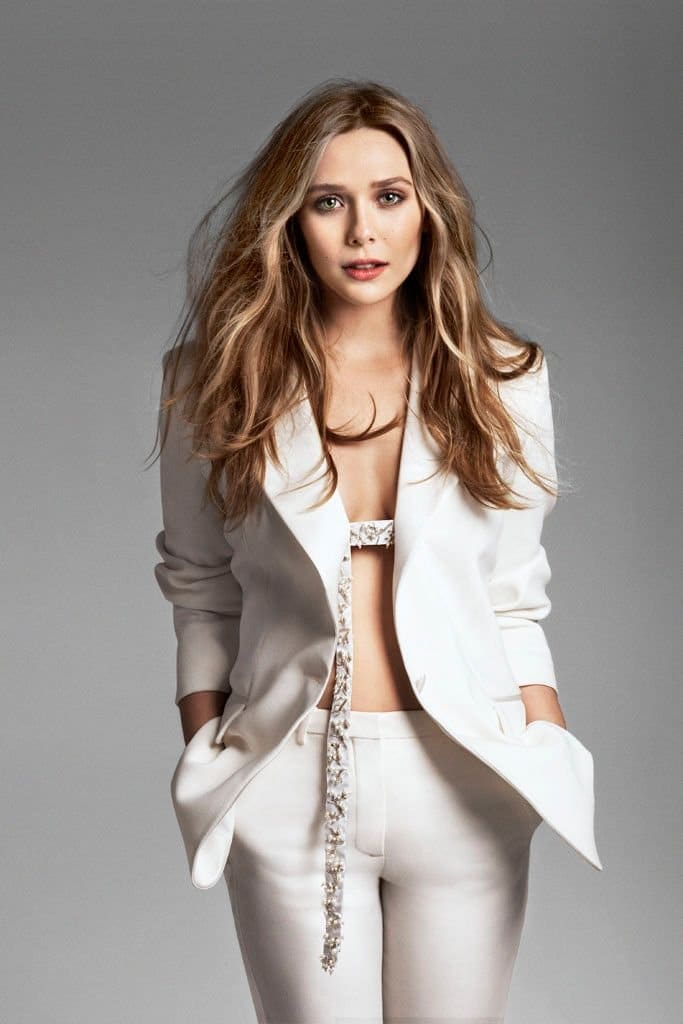 Elizabeth Olsen Sexy Photoshoots