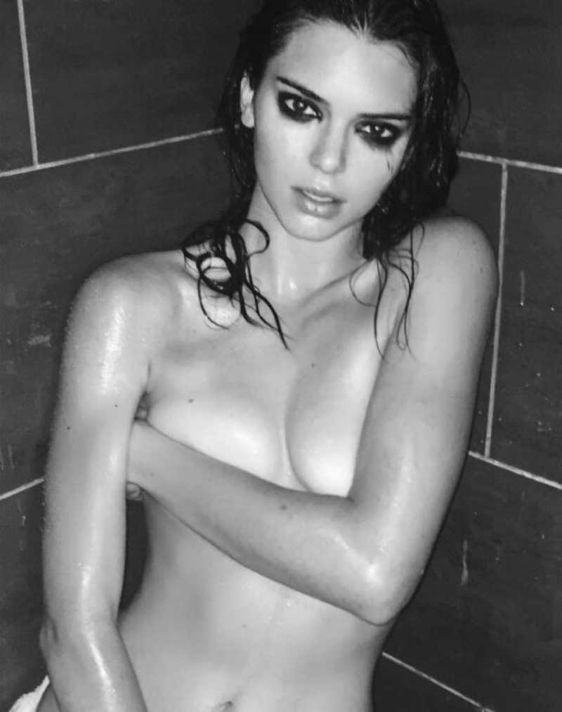 Kendall Jenner Boobs Uncovered