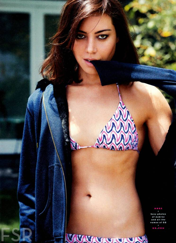 Aubrey Plaza Hot Bikini Photos