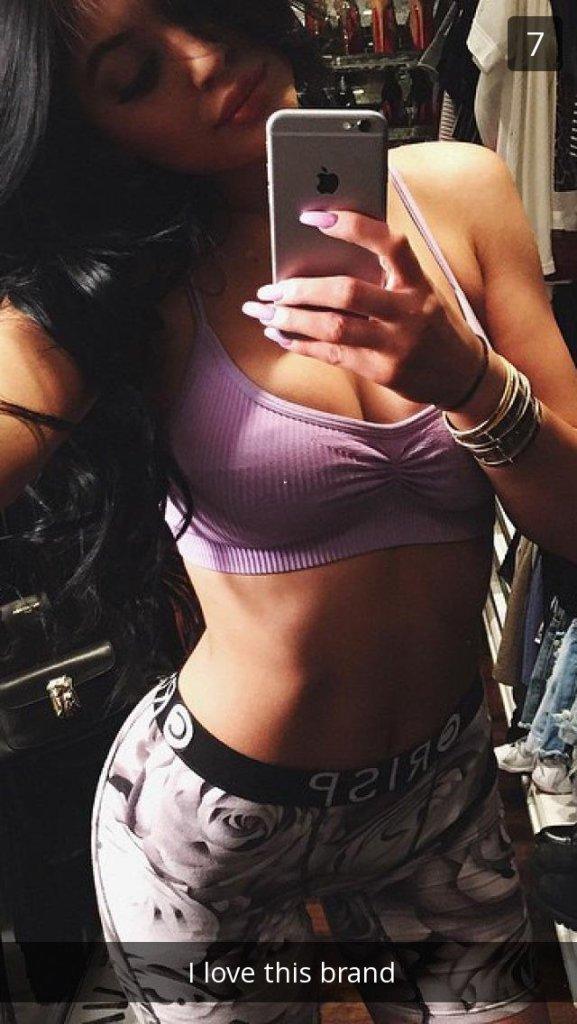 Kylie Jenner Sexy Snapchat Leaks