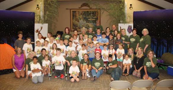 Kids Ministry at All Souls Church in Scott Arkansas, vacation bible school
