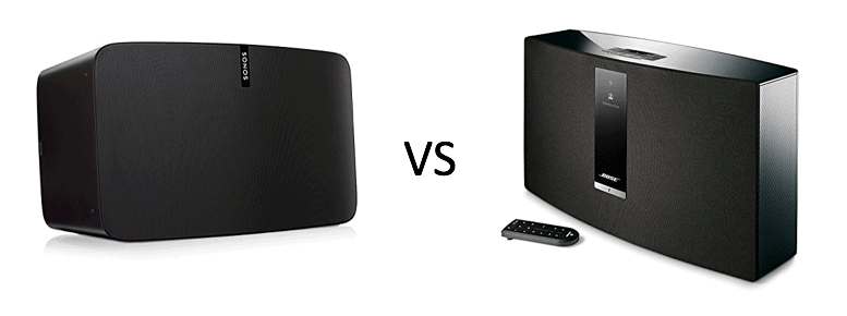 The Battle Of The Wireless Speakers Sonos Play 5 Vs Bose Soundtouch