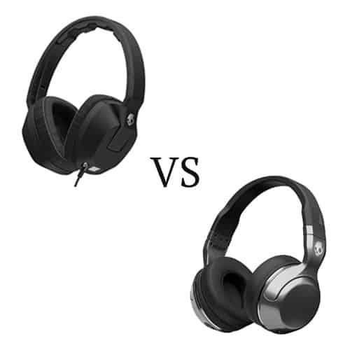 Skullcandy Crusher vs Hesh 2 Wireless