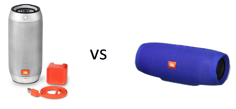 JBL Pulse 2 and JBL Charge 3
