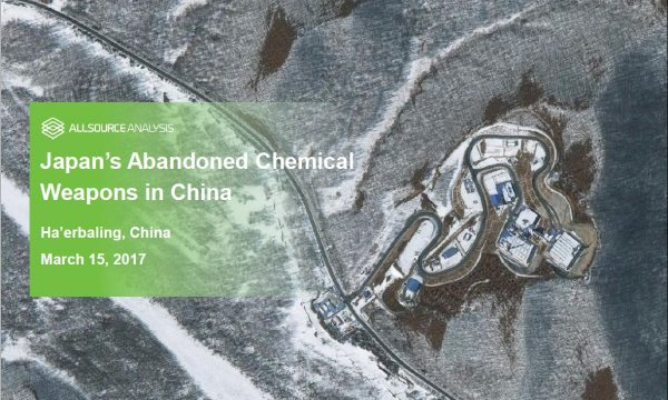 Japans Abandoned Chemical Weapons in China