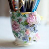 My favorite broken mug/ My favorite pencil cup
