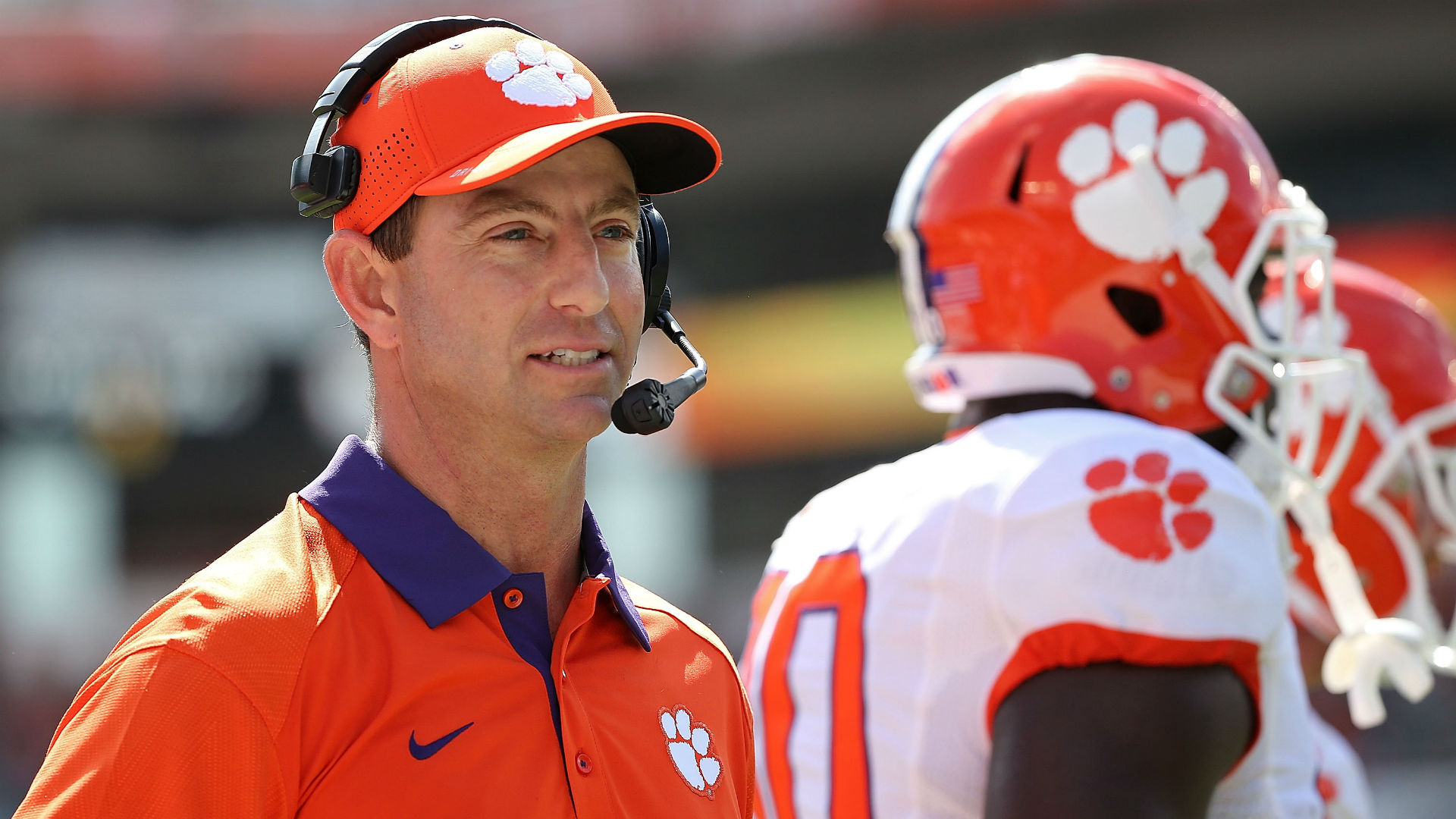 Former and current Clemson athletes rush to defend Dabo ...