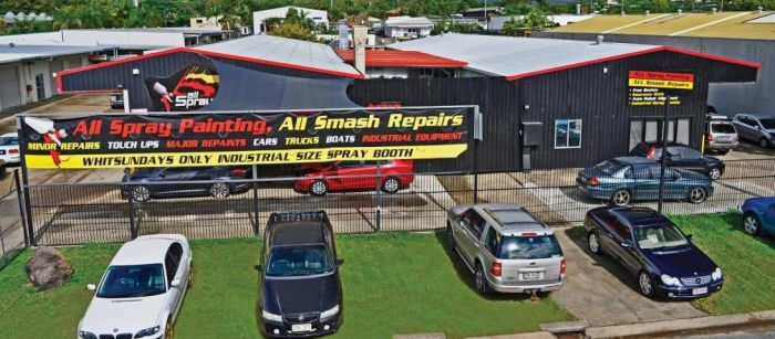 AllSpraying Car Accident Repair Centre, Cannonvale, Whitsundays