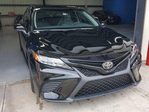 Toyota front view- complete