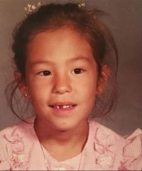 Childhood photo of Joanna Gaines.
