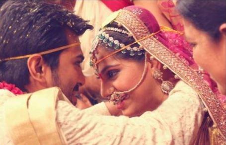 Ram Charan and Upasana Kamineni's wedding ceremony.