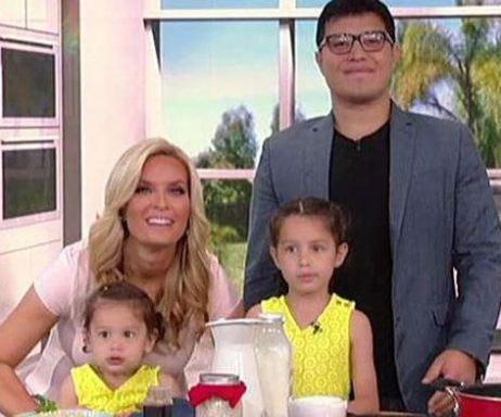 Jackie with her husband, Eddie Ibanez and their daughters