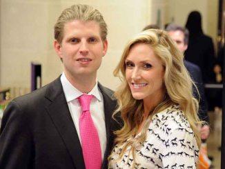 Eric Trump and Lara Yunaska photos