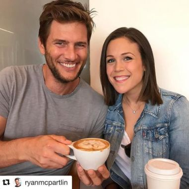 Erin Krakow with her reported boyfriend, Daniel Lissing